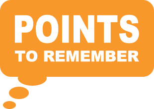 RCI - Points to Remember